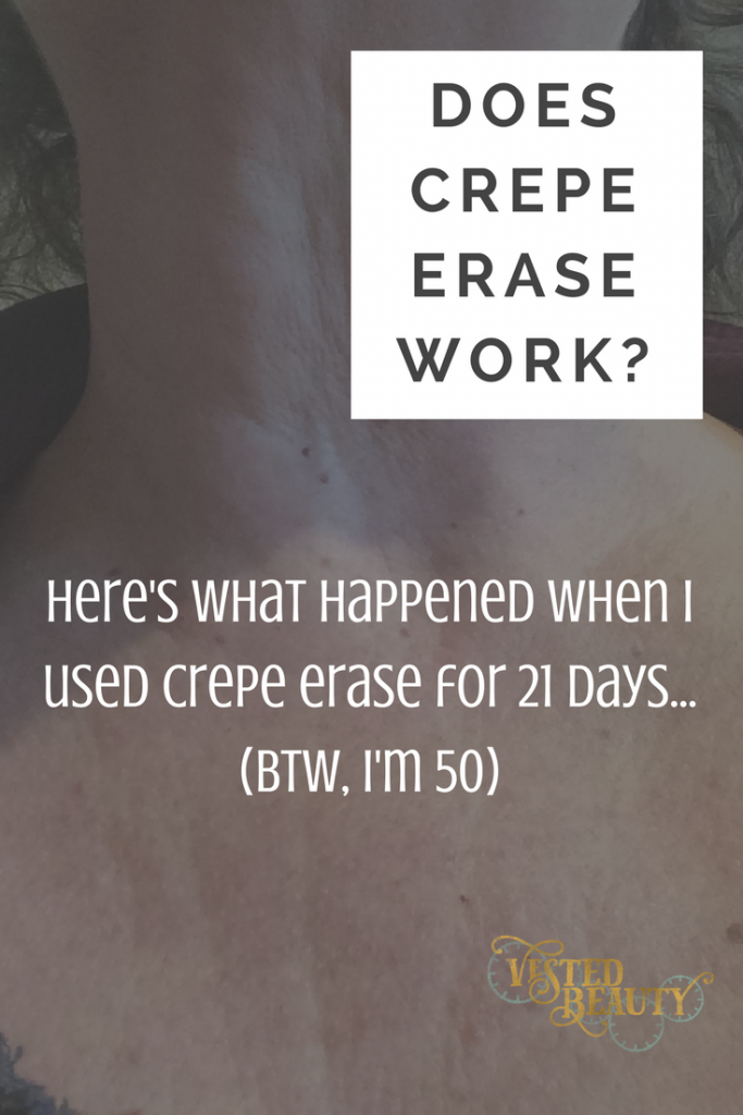 Does Crepe Erase Work?