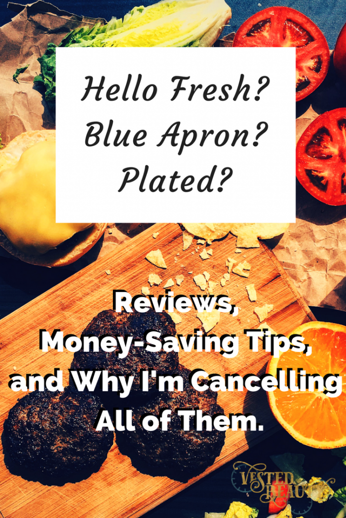Hello Fresh vs. Blue Apron vs. Plated