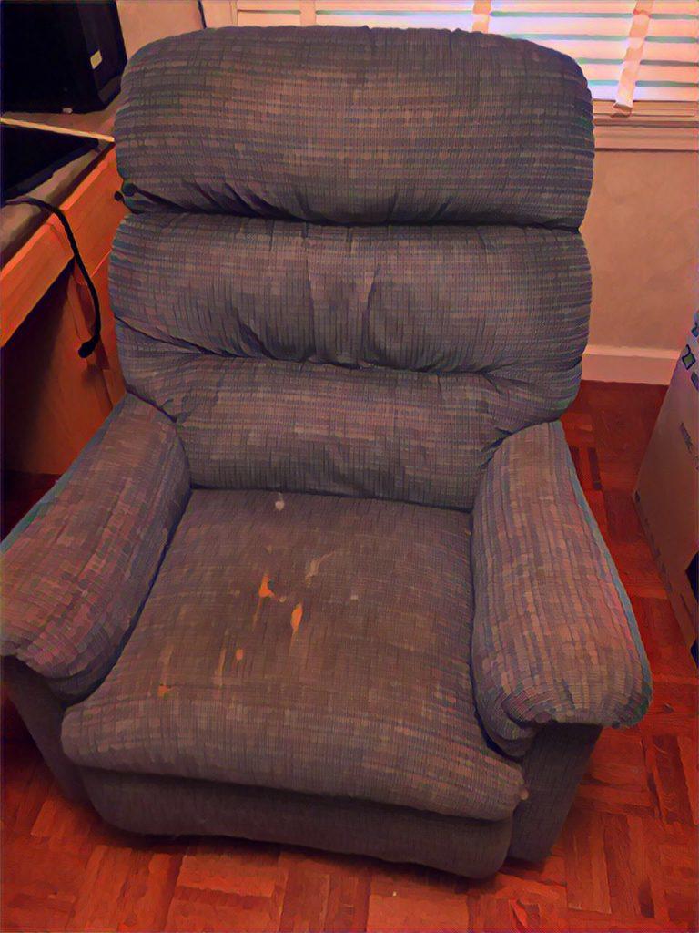 Old recliner