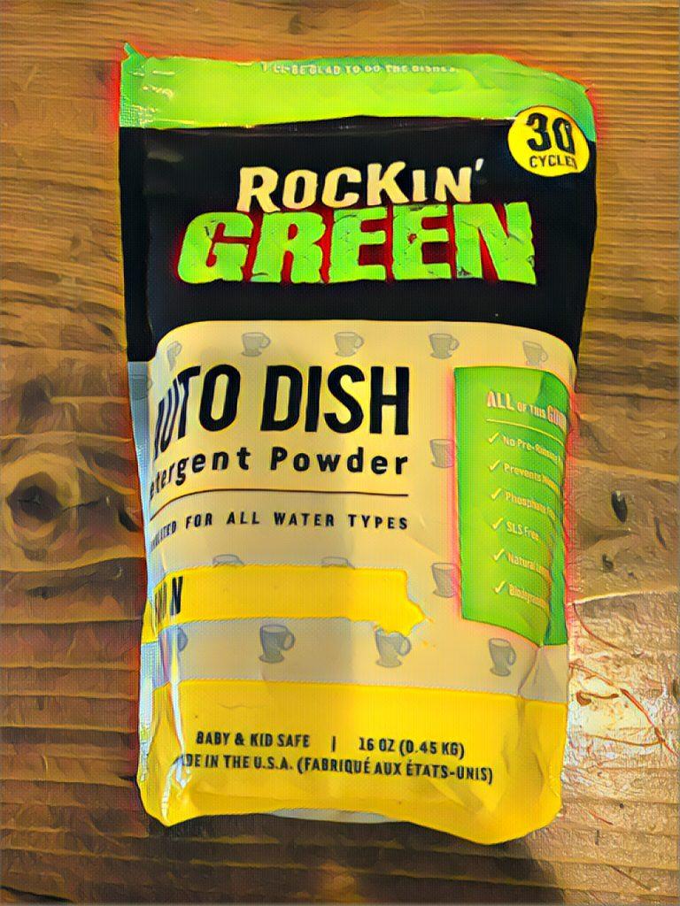 Rockin' Green Dish Detergent