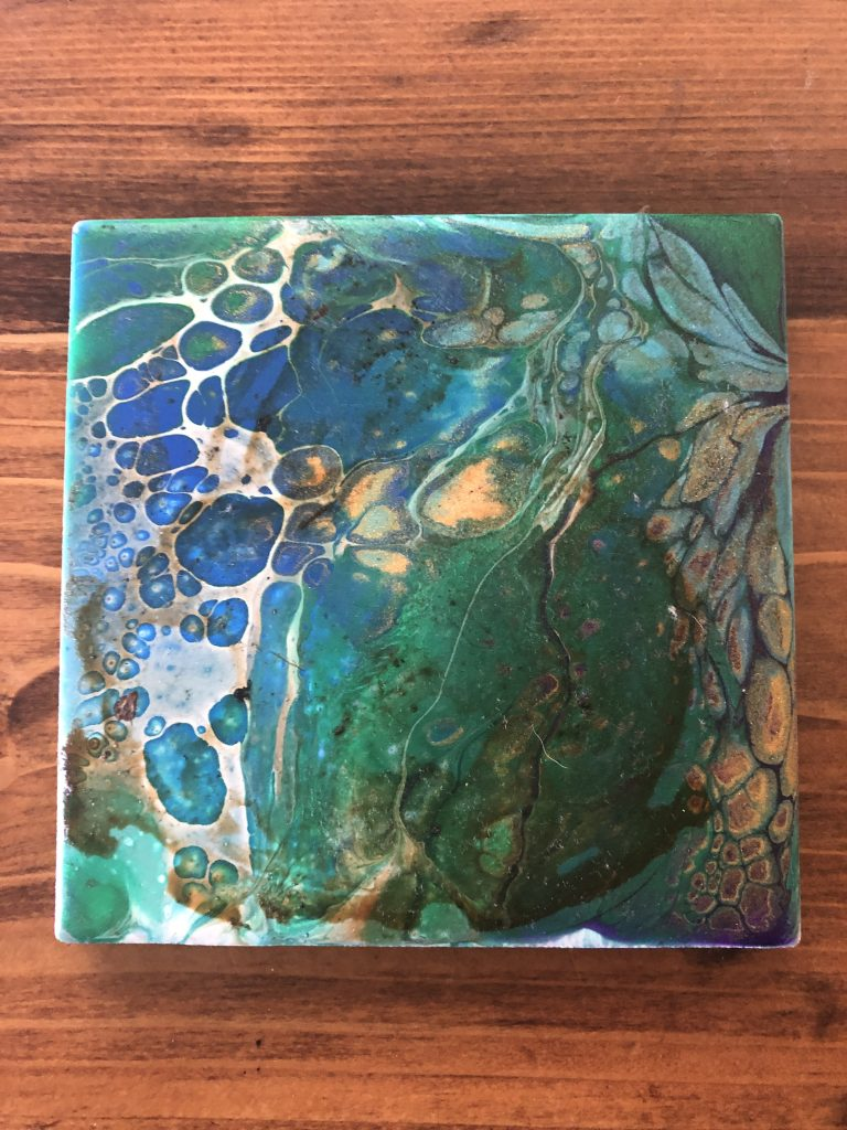 Try New hobbies - paint pour