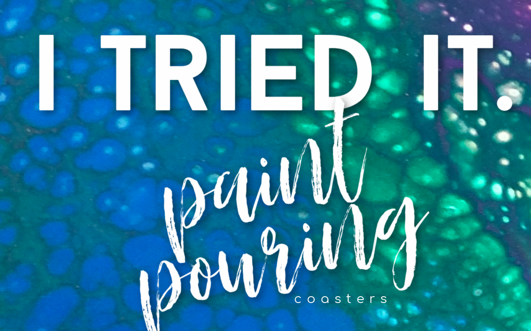 New Hobbies to Try in Midlife: Paint Pouring